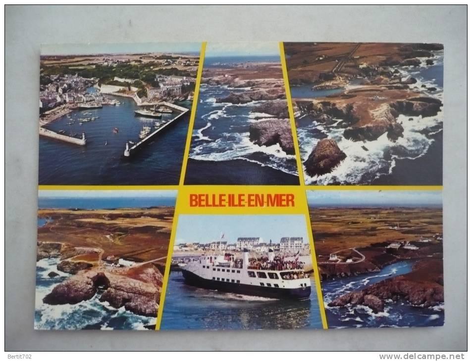 CPSM GRAND FORMAT-  BELLE-ILE-EN-MER  -   Multivues - Belle Ile En Mer