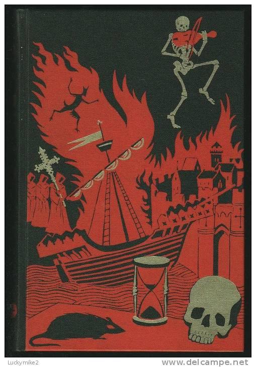 """The Black Death""  By  Philip Ziegler.  Folio Society Issue. - Histoire"