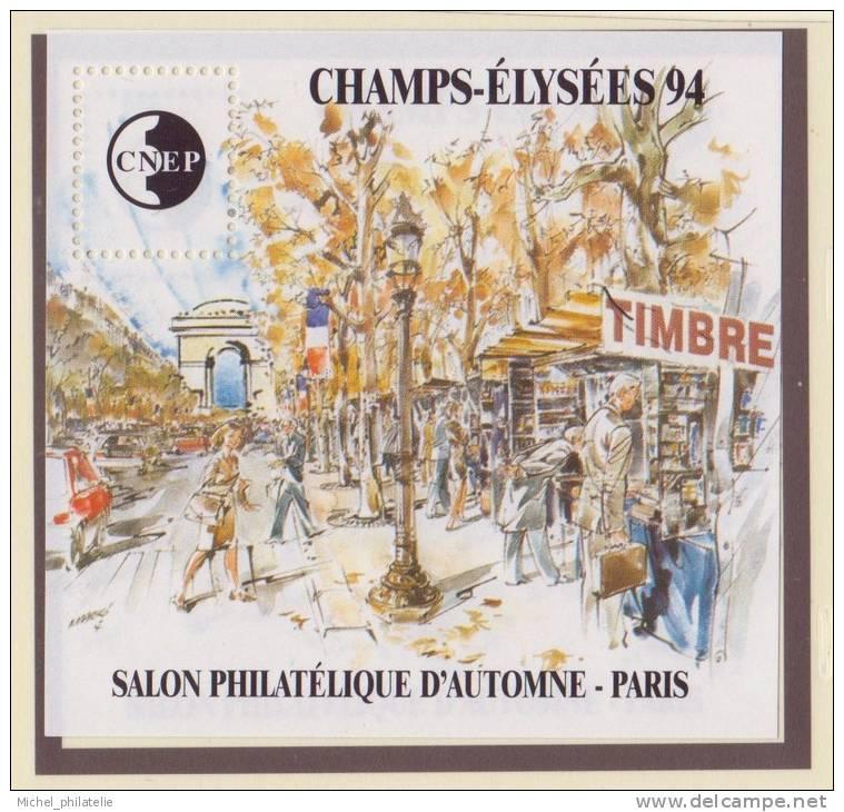 France - Bloc CNEP 1994 - N° 19 ** - CHAMPS ELYSEE - Salon Philatélique De Paris - - CNEP