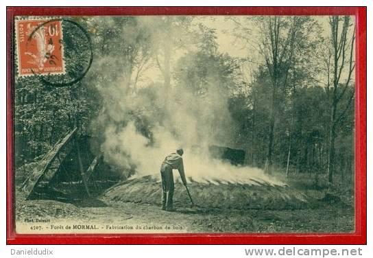 4414 MORMAL FORET DE FABRICATION DU CHARBON DE BOIS Delcampe net # Fabrication Du Charbon De Bois