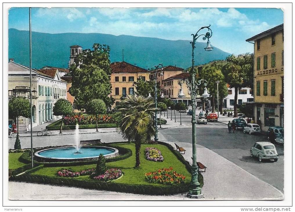 Tarcento - Piazza Libertà - Auto - Cars - H516 - Udine