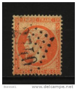 France   N°  23 Oblitéré  Cote 8 € Au Quart De Cote - 1862 Napoleon III