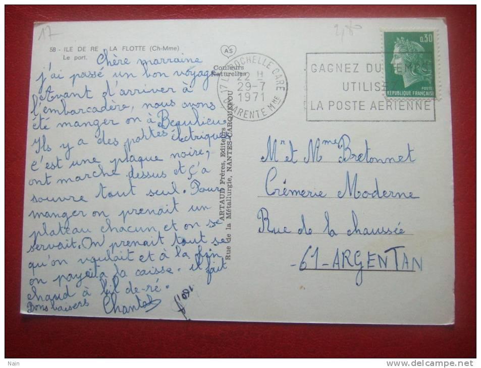 17 - ILE DE RE - LA FLOTTE - LE PORT - - Ile De Ré