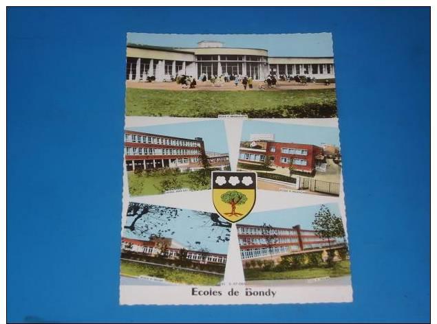 CPSM 93 Ecoles De BONDY Multivues - Bondy