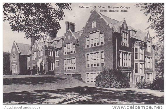 Massachusetts South Hadley Skinner Hall Library Mount Holyorke College Albertype