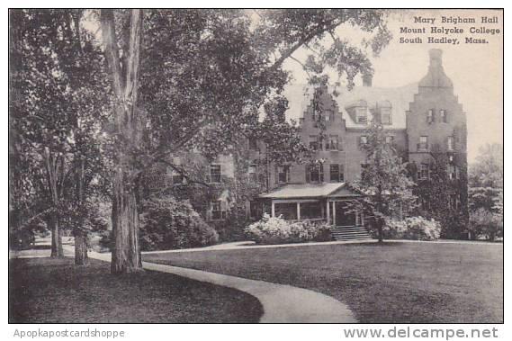 Massachusetts West Springfield Mary Brighan Hall Mount Holyoke College Albertype