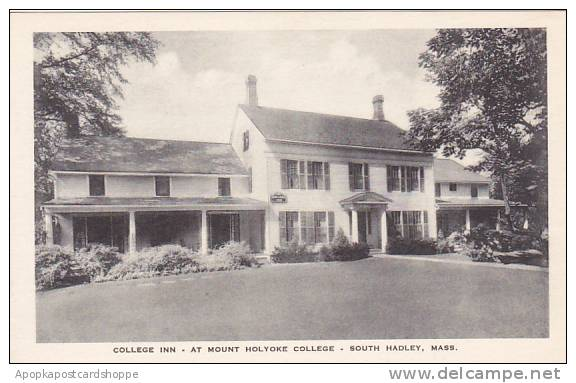 Massachusetts South Hadley College Inn At Mount Holyoke College Albertype