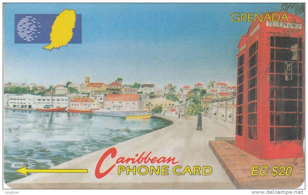 GRENADA-165CGRA-CARENAGE ST.GEORGES - Grenada