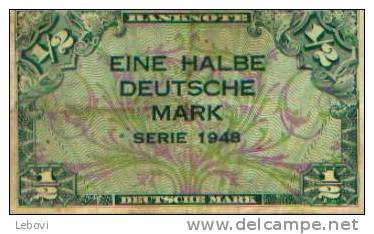 Allemagne - 1/2 Mark 1948 - 1/2 Mark