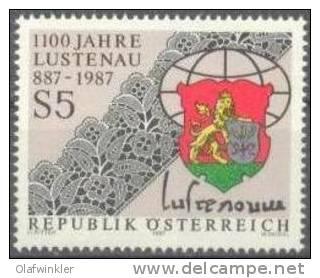 1987 Lustenau ANK 1916 / Mi 1885 / Sc 1398 / YT 1714 Postfrisch/neuf/MNH - 1981-90 Ungebraucht