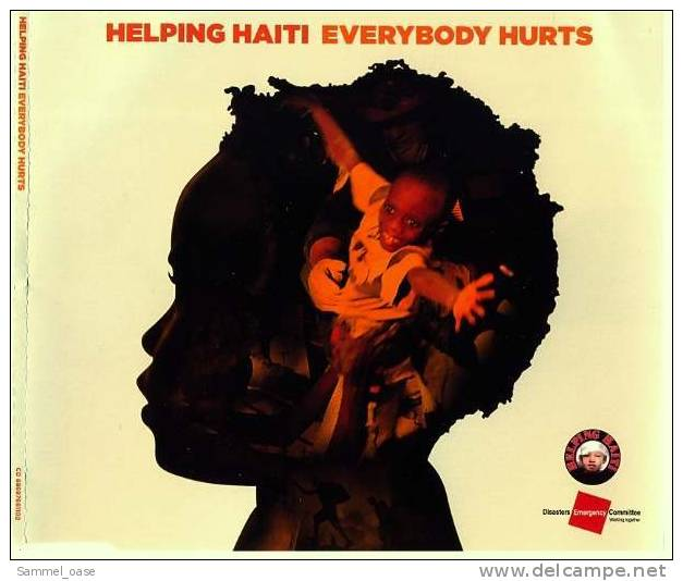 "Musik Maxi CD - ""Everybody Hurts"" Von Helping Haiti Mit Jon Bon Jovi , Kylie Minogue , Leona Lewis - Musik & Instrumente"