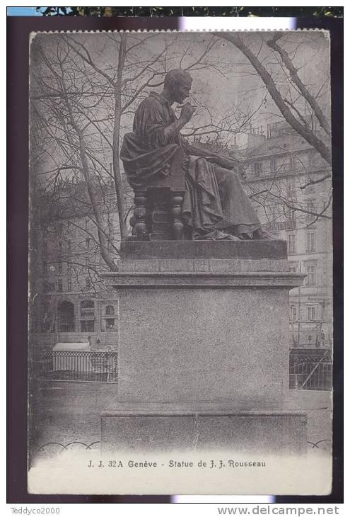 Genève Statue De J. J. Rousseau - GE Genève
