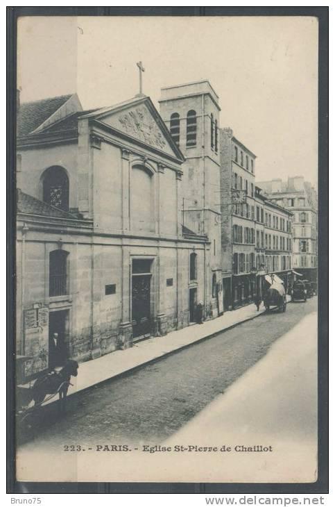 75 - PARIS 16 - Eglise Saint-Pierre De Chaillot - Précurseur - Arrondissement: 16