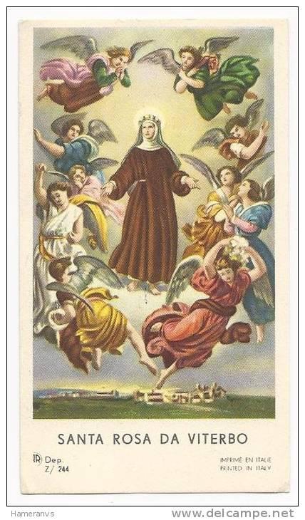 Santa Rosa Da Viterbo - B.3 - Images Religieuses