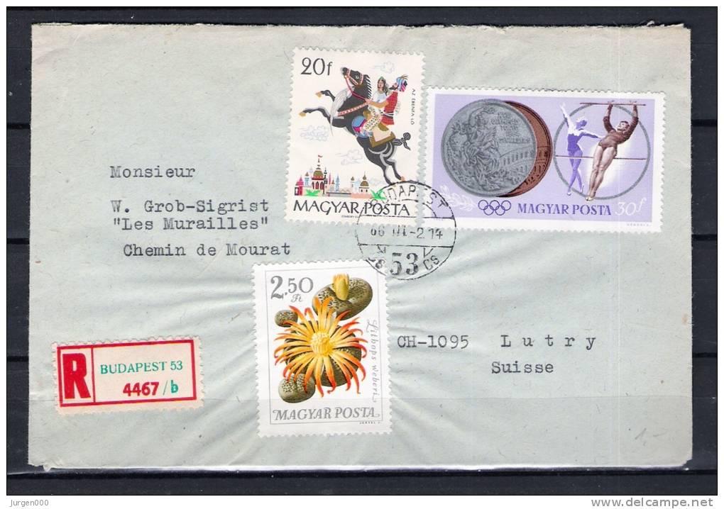 MAGYAR POSTA, 02/03/1966 BUDAPEST (GA1654) - Winter 1964: Innsbruck