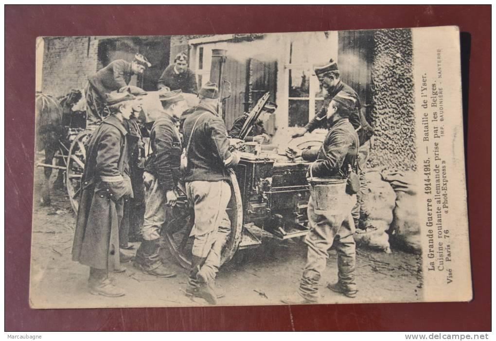 1 cp la grande guerre 1914 1915 bataille de l 39 yser for Cuisine allemande