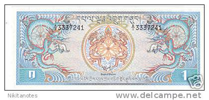 BHUTAN P.5 - 1 Ngultrum ND1981 UNC - Bhután