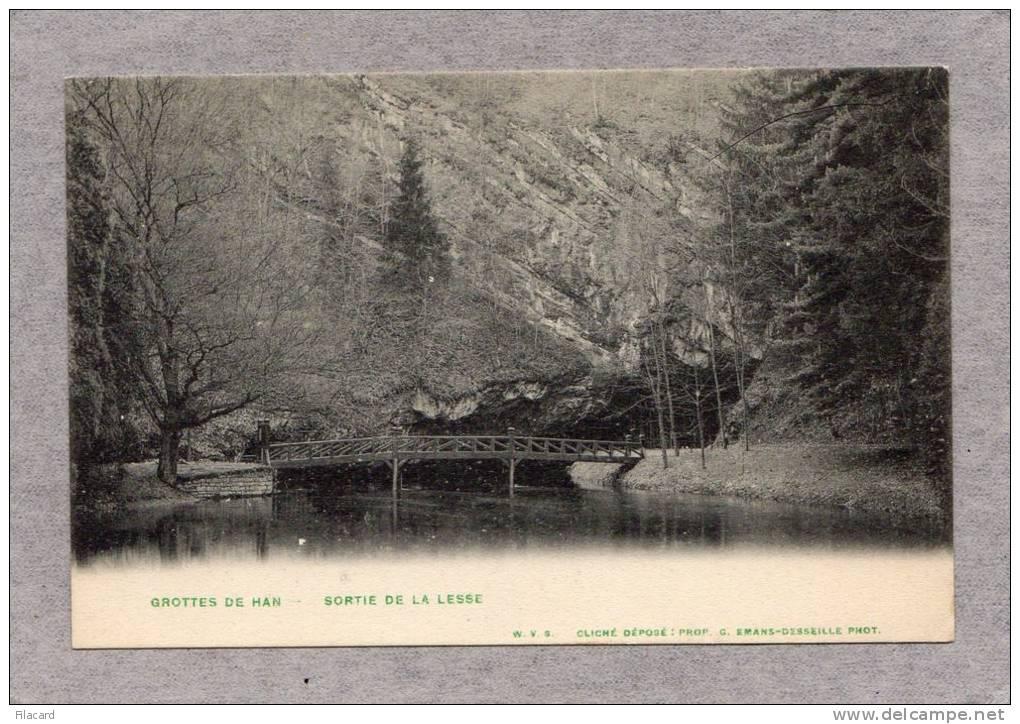 30596    Belgio,  Grottes  De  Han,  Sortie  De  La  Lesse,  NV - Rochefort