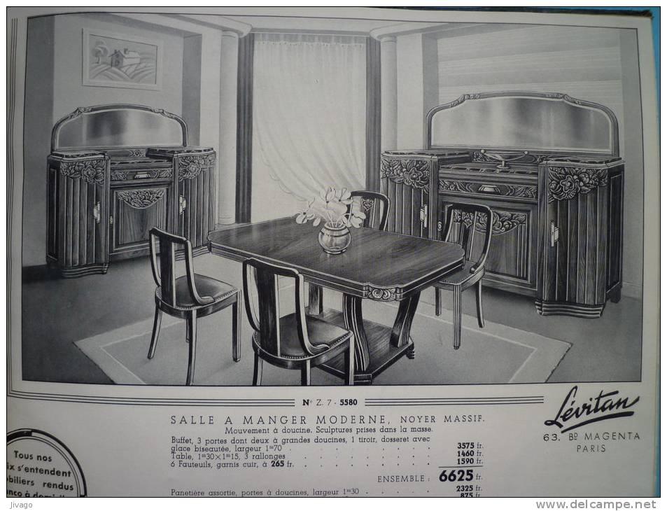 Tr s beau catalogue levitan meubles 1938 148 pages for Catalogue meuble