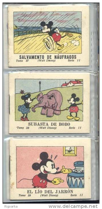 COLLECTION COMPLETE D'HISTOIRES POUR ENFANT MICKEY. EDITION 1936 - Mickey - Autres