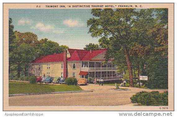 North Carolina Franklin Trimont Inn A Distinctive Tourist Hotel Albertype