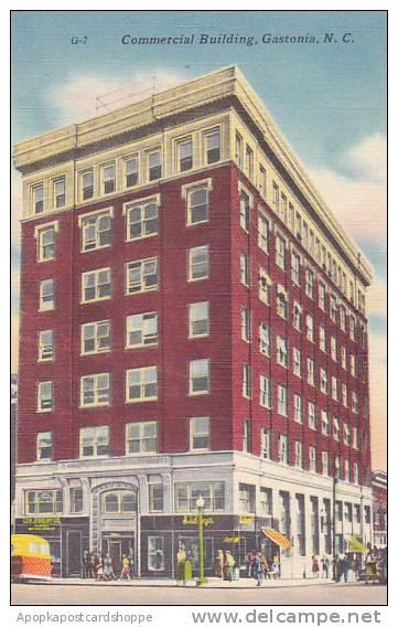 North Carolina Gastonia Commercial Building Albertype