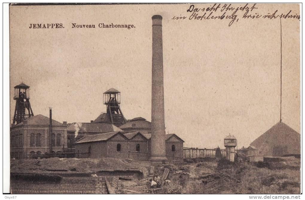 JEMAPPES ( Belgique-Walonnie-Hainaut) Nouveau Charbonnage - USINE -CHARBON - COMBUSTIBLE - - Belgien