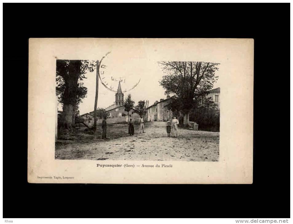 32 - PUYCASQUIER - Avenue Du Picadé - France