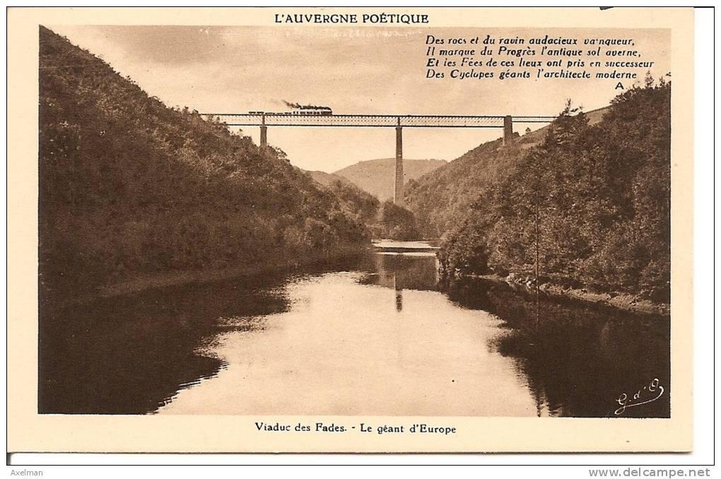 SAURET-BESSERVE: Viaduc Des Fades, Le Géant D'Europe - Altri Comuni