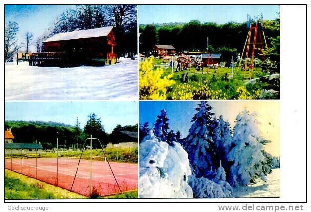03 LOGE DES GARDES STATION DE SKI 4 VUES/ 1 CARTE 1982 - France