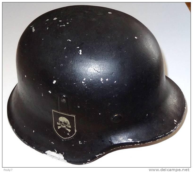 Casque allemand de la seconde guerre mondiale