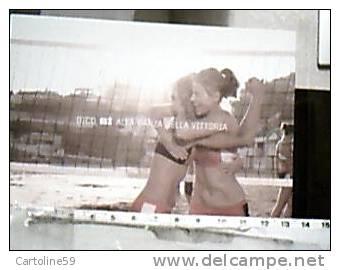 PALLAVOLO SPIAGGIA  BEACH VOLLEY RAGAZZE DICO SI A DANZA VITTORIA  HERE I AM  N1995 DX5230 - Volleyball
