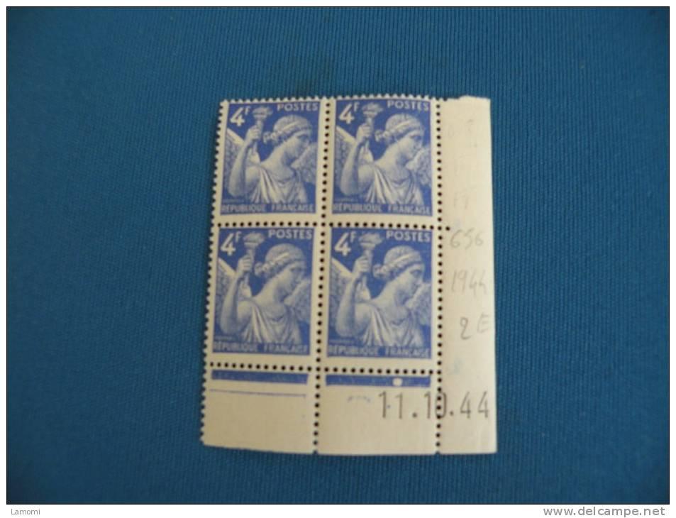 *N° 719 Y&T - 1945/47 Neuf Sans Charnières - Cote 1,10 € ( 2012 ) Coin Daté 14.3.45 - 1940-1949