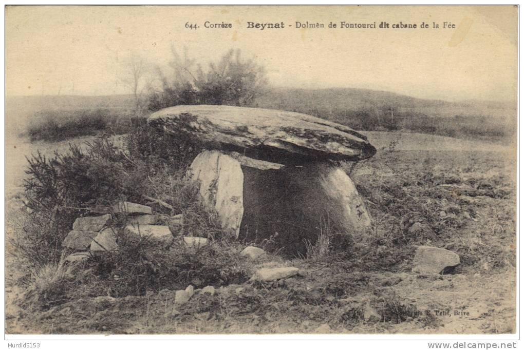 CPA- 19- Correze- Beynat- Dolmen De Fontouci Dit La Cabane De La Fée- TBE - Autres Communes