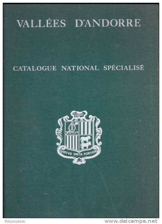 Vallée D' Andorre Catalogue National Spécialisé 240 Pages Maury SA éditeur - Cataloghi