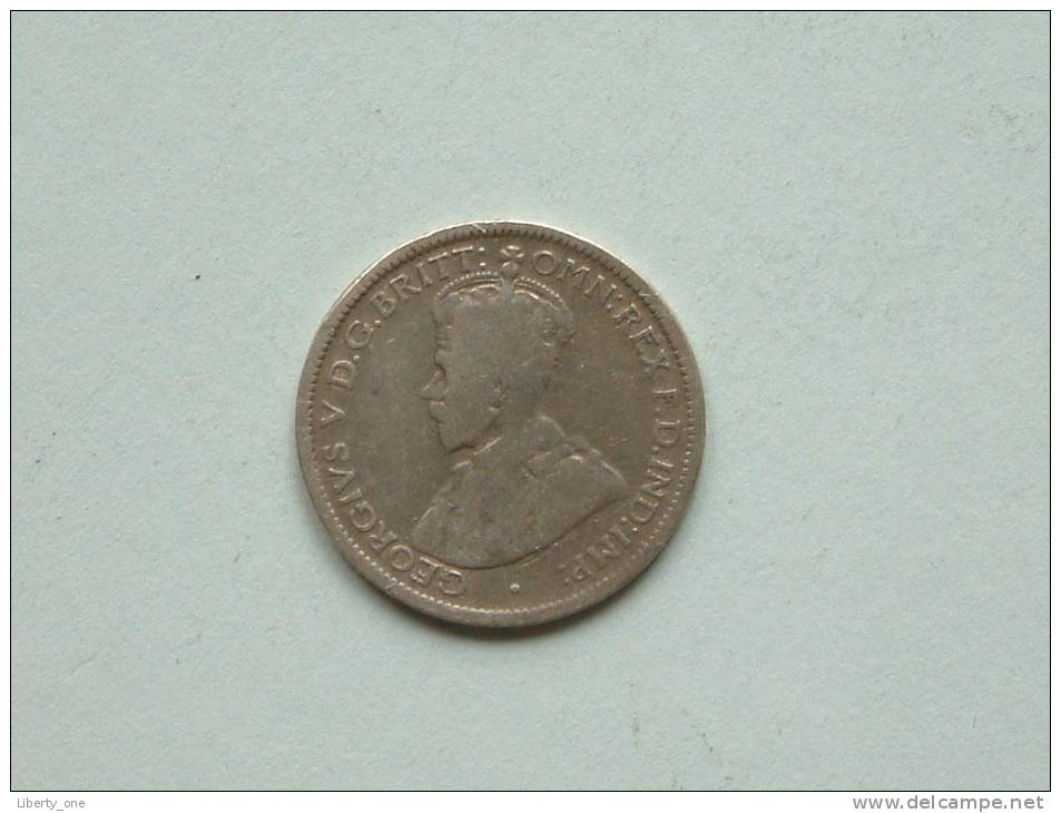 6 PENCE 1925 / KM 25 ( Uncleaned Coin / For Grade, Please See Photo ) !! - Australien