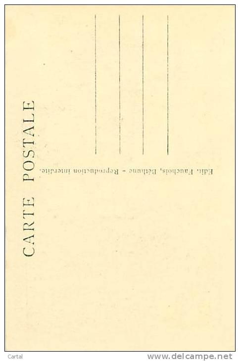62 - N.D. DE LORETTE - Le Phare Et La Statue Du Général Maistre (Edit. Fauchois, 23) - Francia