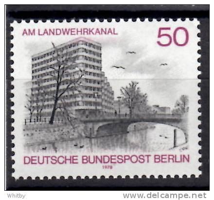 Germany, Berlin 1978 50pf  Landwehr Canal Issue #9N423 - [5] Berlin