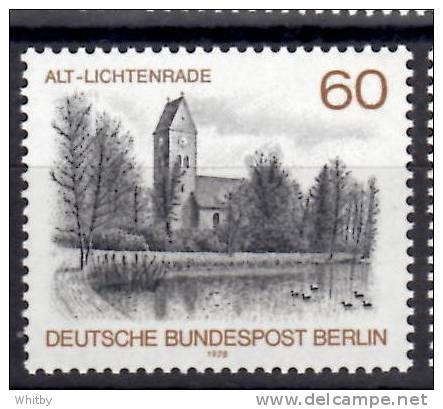Germany, Berlin 1978 60pf  Alt-Lichtenrade Issue #9N424 - [5] Berlin