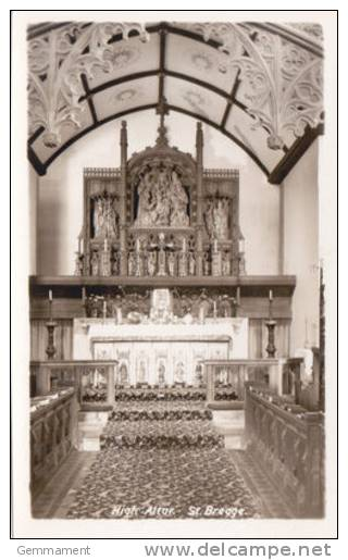 ST BREAGE CHURCH - HIGH ALTAR - Unclassified