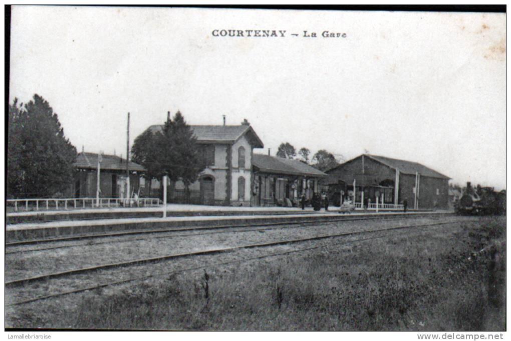 45 - COURTENAY - LA GARE - Courtenay