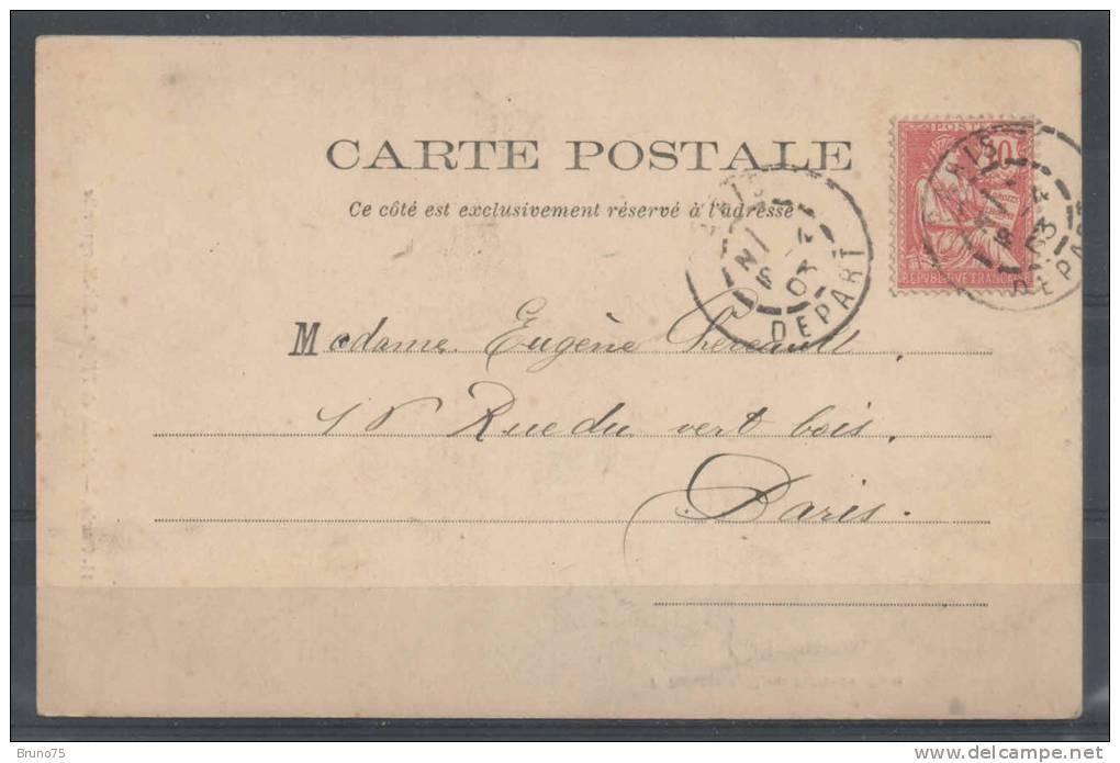 75 - PARIS 11 - Abside De L´Eglise Sainte-Marguerite - Précurseur - 1903 - FP 11 - Arrondissement: 11