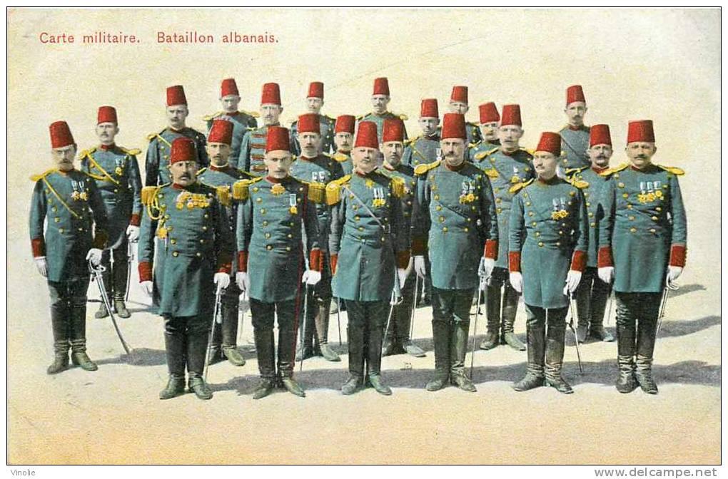 : Réf : L-12-0733  : Bataillon Albanais - Albania