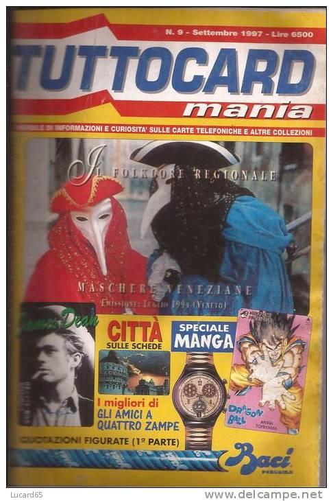TUTTOCARD MANIA - N. 9 SETTEMBRE 1997 - Kataloge & CDs