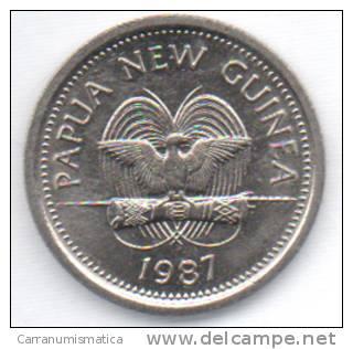 PAPUASIA NUOVA GUINEA 5 T 1987 - Papuasia Nuova Guinea