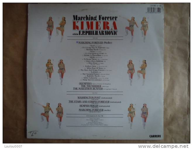 KIMERA WITH THE F.P. PHILHARMONIC // MARCHING FOREVER - Discos De Vinilo