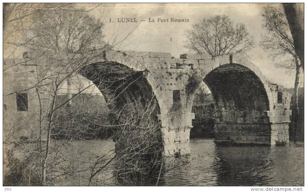 34 - Lunel - Le Pont Romain - 40720 - Lunel