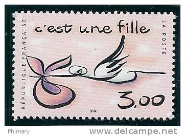 - A.1999 -Y.T. N°3231 - NEUF * * - TIMBRE POUR  NAISSANCE FILLE  - - France