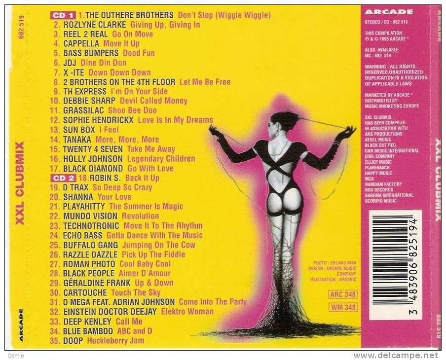 XXL °°°°  Club Mix   2 Cd  B35 Titres - Hit-Compilations