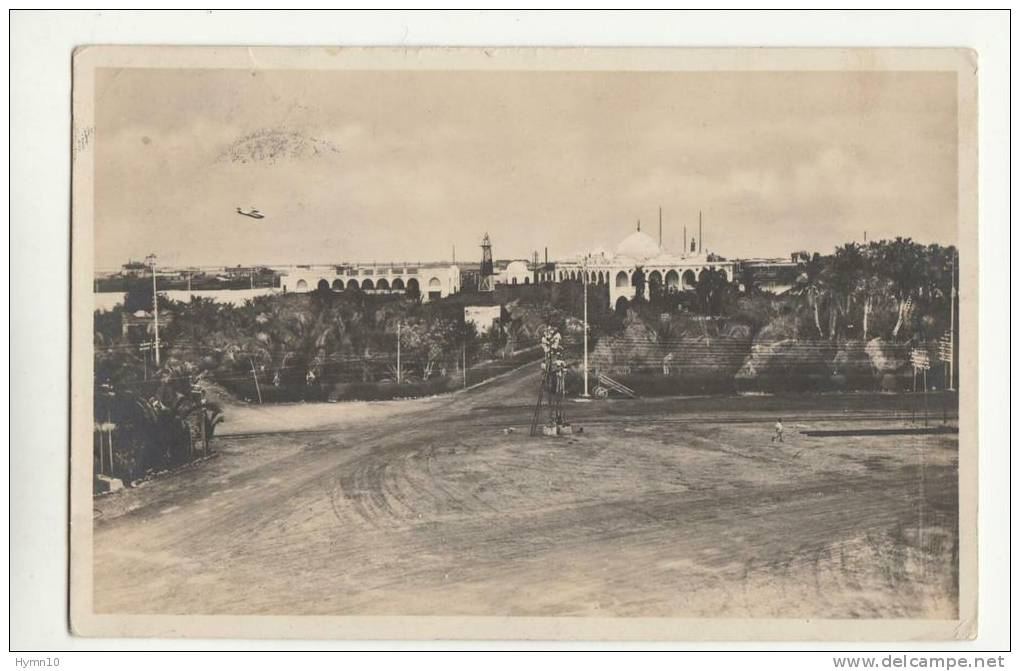DB823-ERITREE-AK MASSAUA-Garten Und Regierung Gebeude Luftanfnahme-gel.1930 - Eritrea